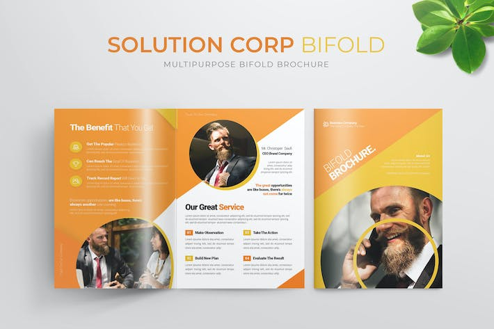 Thumbnail for Solution Corp | Bifold Broschüre