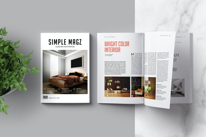 Thumbnail for Multipurpose Magazine Template