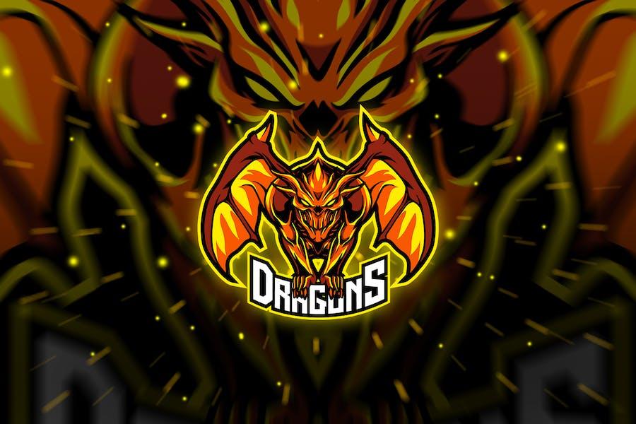 dragons - Mascot & Esport Logo
