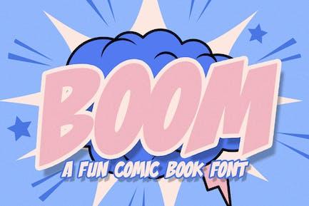 Fuente Boom Comic