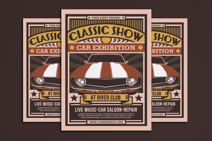 Thumbnail for Classic Show Car Exhibition