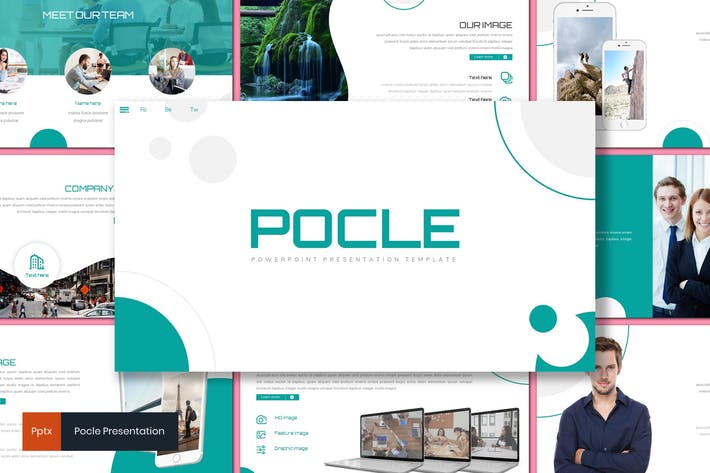 Thumbnail for Pocle - Business Powerpoint Template