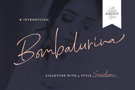 Bombalurina Script (4 Fonts)