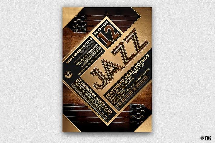 Thumbnail for Jazz Festival Flyer Template V5