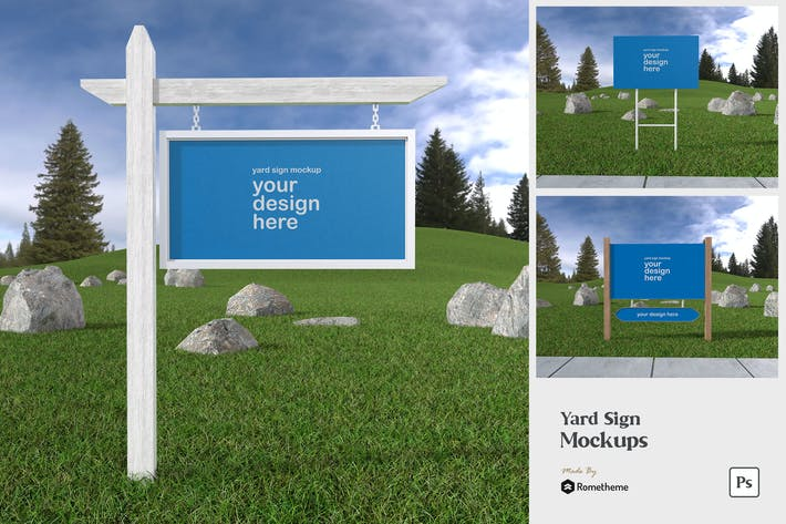 Yard Sign - Mockup FH