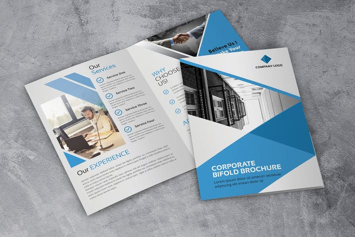Thumbnail for Corporate - Bifold Brochure