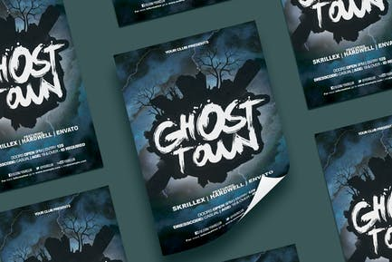Ghost Town Flyer