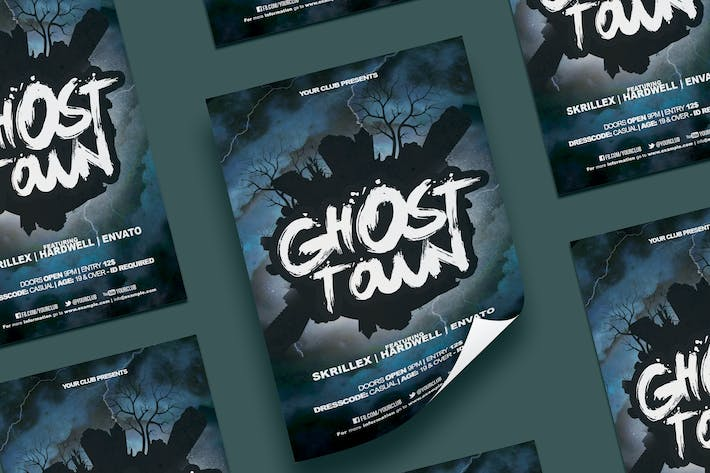 Thumbnail for Ghost Town Flyer