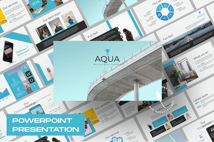 Thumbnail for Aqua Business Presentation