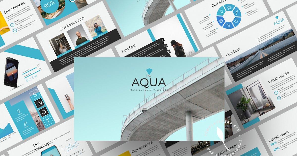 Download Aqua Business Presentation by templatehere