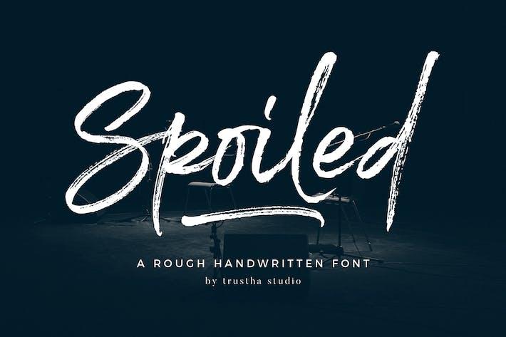 Thumbnail for Spoiled Brush Font