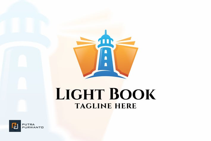 Thumbnail for Light Book - Logo Template