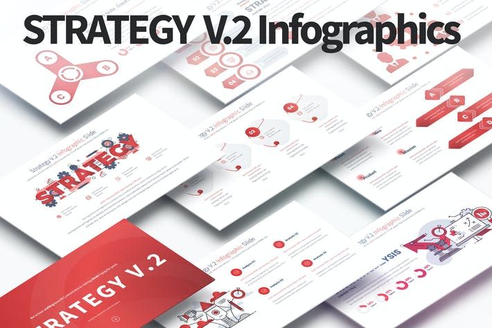 Thumbnail for Strategy V.2 - PowerPoint Infographics Slides