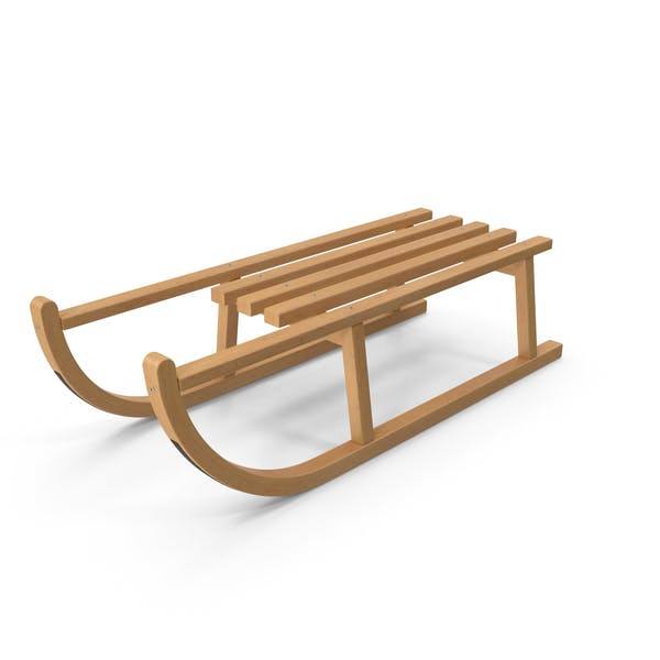 Cover Image for Wooden Sledge