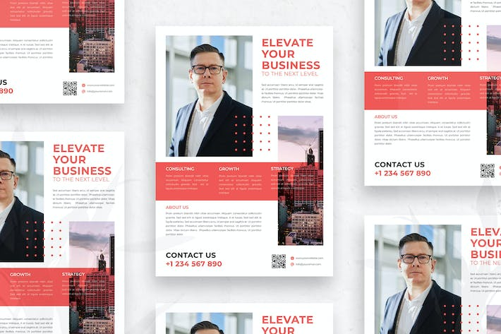 Thumbnail for Corporate Business - Flyer