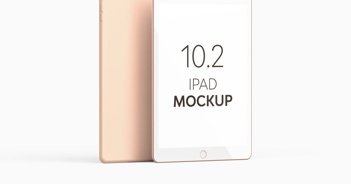 Download iPad 10.2 Mockup by UnicDesign