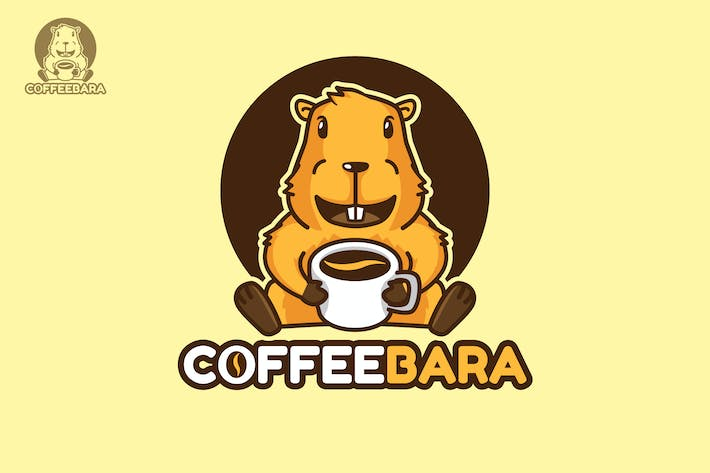 Thumbnail for Coffeebara - Mascot & Esport Logo