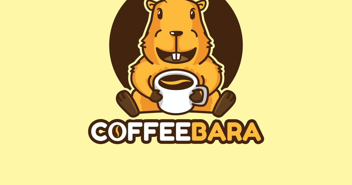 Download Coffeebara - Mascot & Esport Logo by aqrstudio