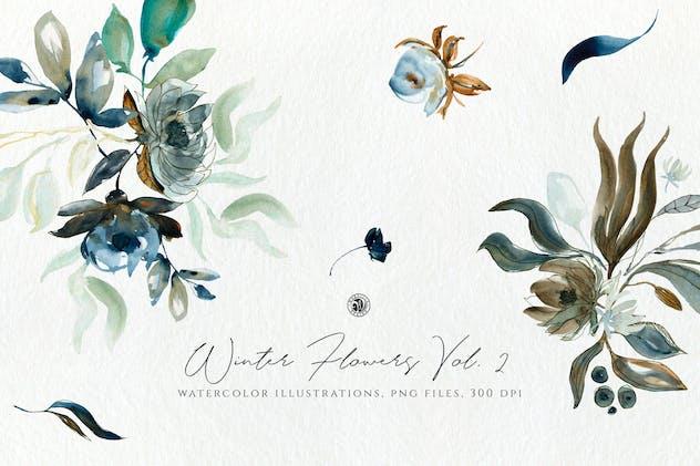 Winter Flowers Vol. 2