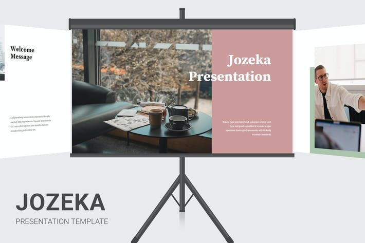 Thumbnail for Jozeka - Investor Pitch Deck Google Slides