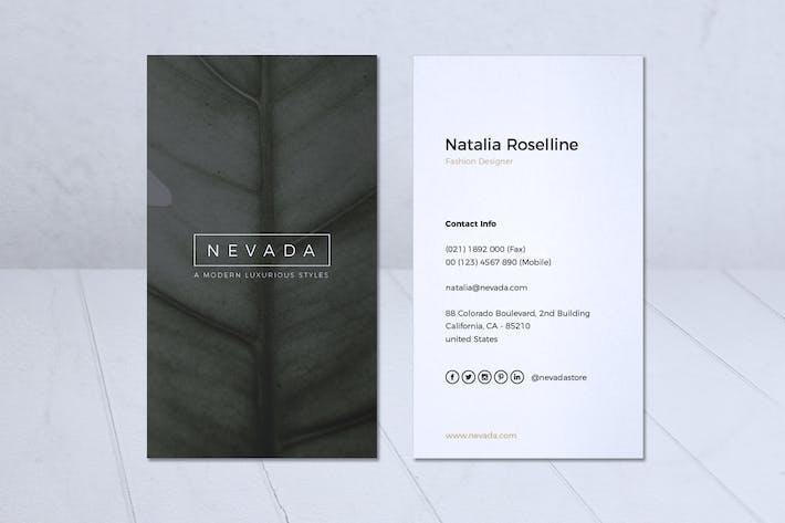 Thumbnail for Minimalist Business Card Vol. 22