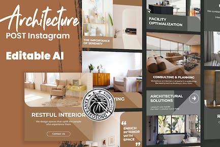Architecture Interior Instagram Template