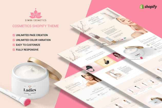 Simba Beauty - Shopify Beauty Theme - product preview 0