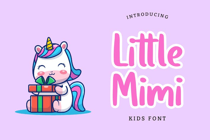 Thumbnail for Little Mimi Kids Font