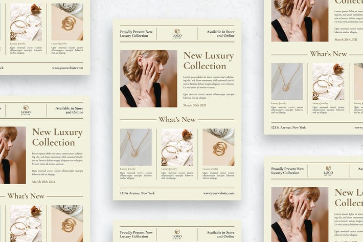 Jewelry Collection - Flyer