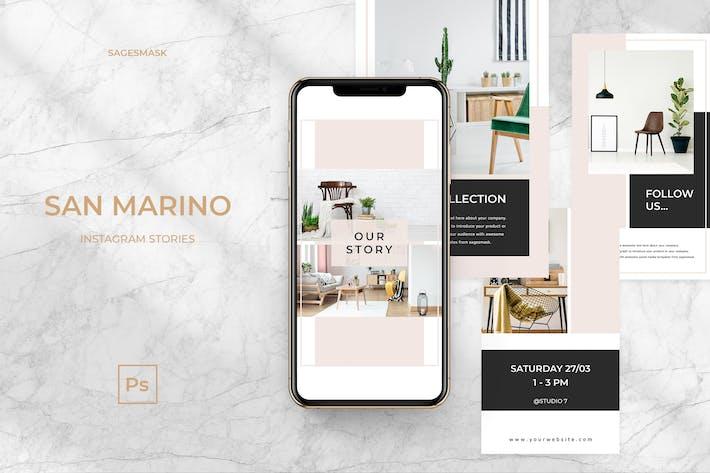 San Marino Instagram Stories