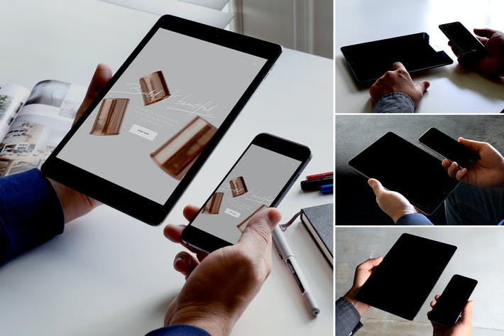 Thumbnail for Responsive Device Mockup