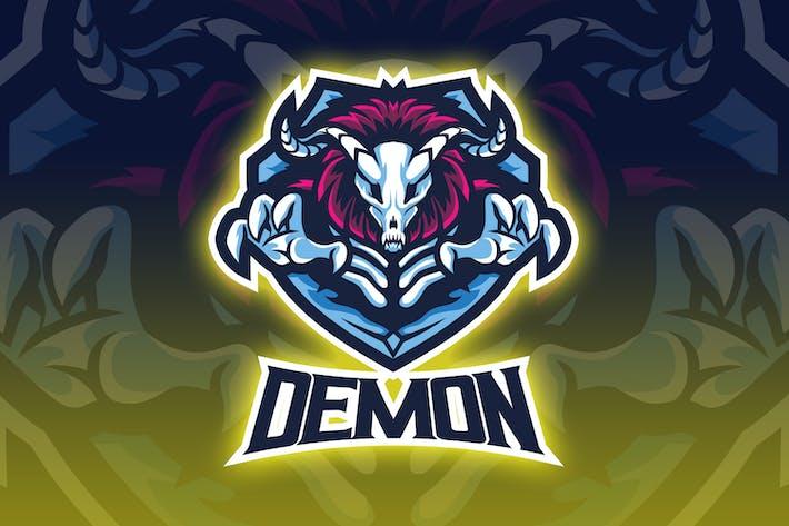 Thumbnail for Scary Demon Esport Logo