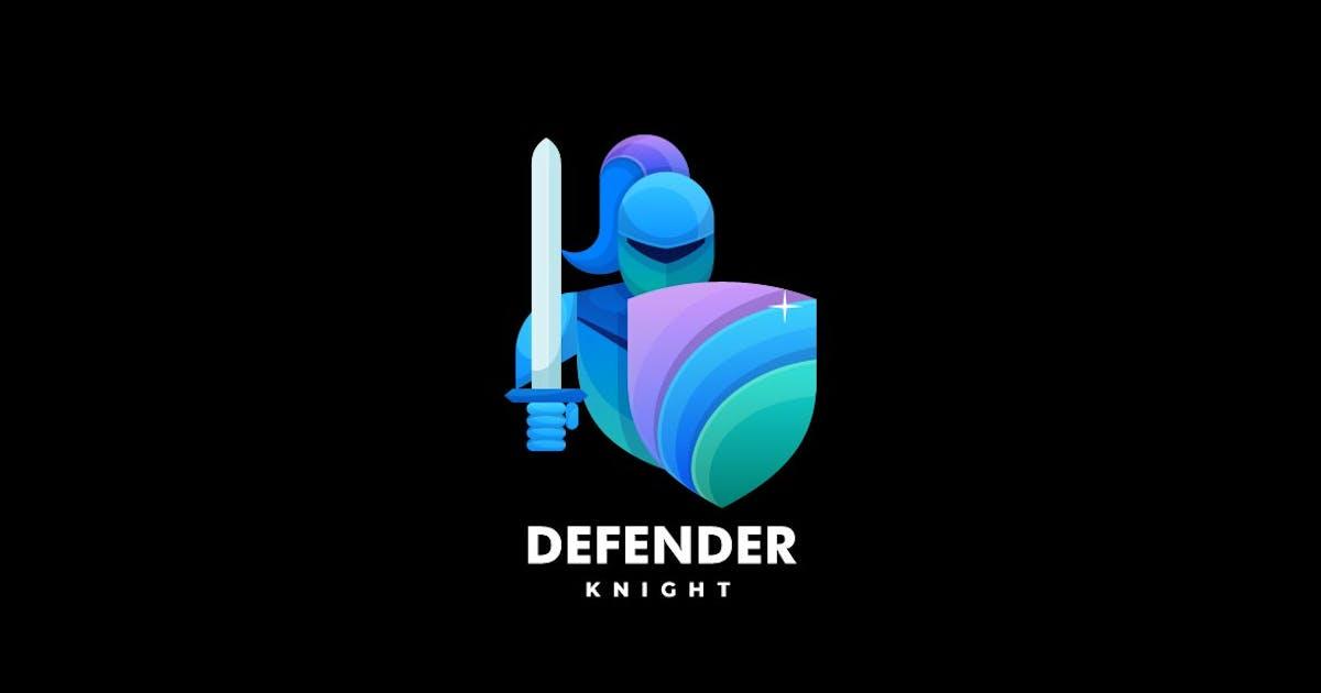 Download Knight Color Gradient  Logo by ivan_artnivora
