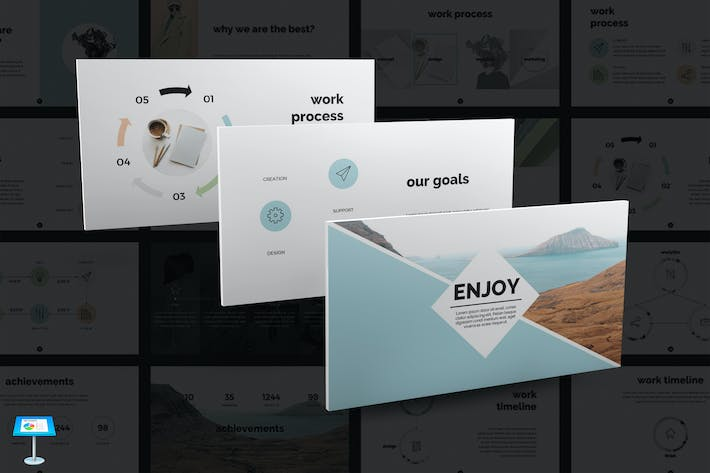 Thumbnail for Enjoy Keynote Template
