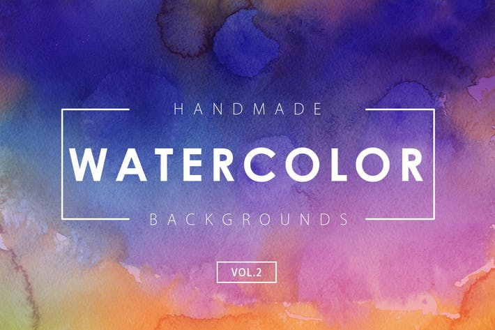 Thumbnail for Handmade Watercolor Backgrounds Vol.2
