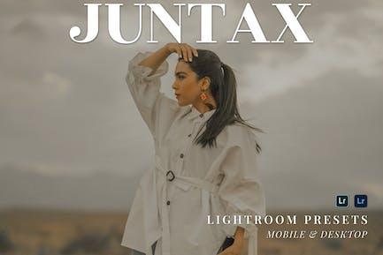 Juntax Mobile and Desktop Lightroom Presets