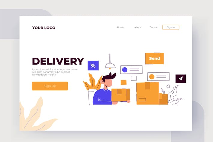 Thumbnail for Delivery - Vector Illustration