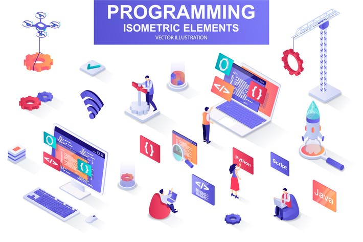 Programming Isometric Design Elements