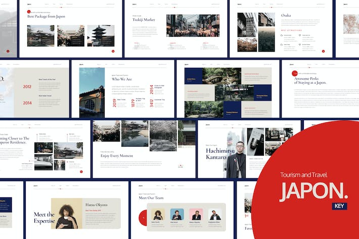 Thumbnail for Japon Clean Presentation - Keynote