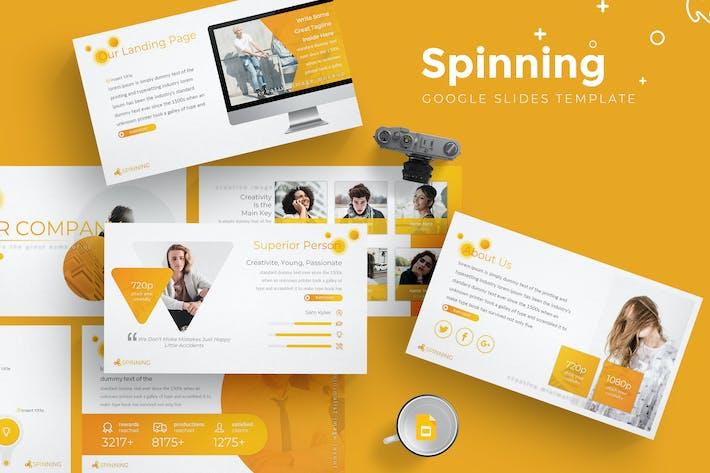 Thumbnail for Spinning - Google Slides Template