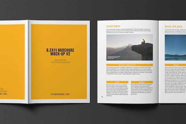 Thumbnail for 8.5x11 Brochure / Catalogue Mock-up