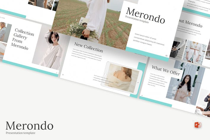 Thumbnail for Merondo - Powerpoint Template