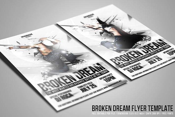 Thumbnail for Broken Dream Flyer Template