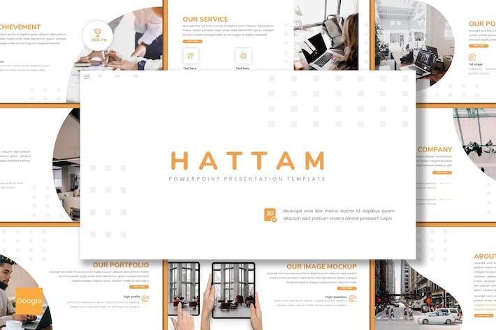 Thumbnail for Hattam - Business Google Slides Template