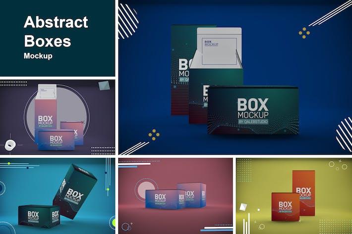 Thumbnail for Abstract Boxes Mockup