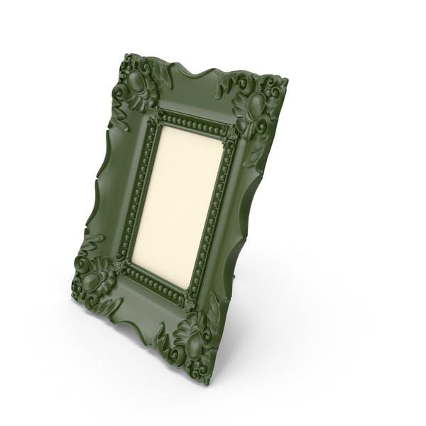 Baroque Green Vintage Photo Frame