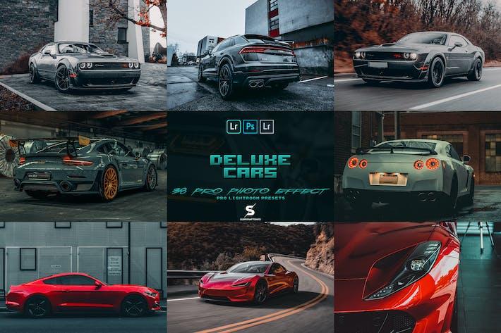 Deluxe Cars 38 Lightroom Presets