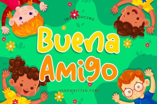 Buena Amigo Handwritten Font - product preview 0
