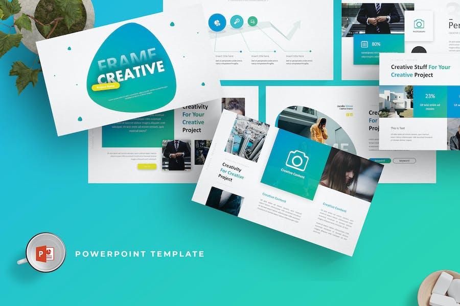 Frame Creative - Powerpoint Template