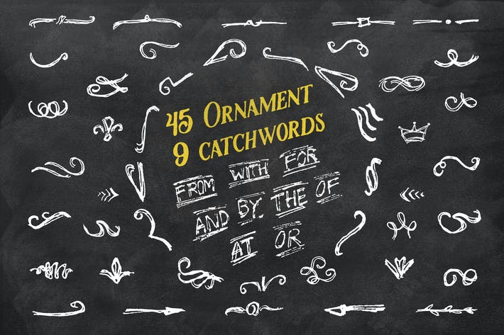 Cover Image For 45 Ornament + 9 Catchwords